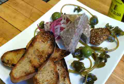 Pork terrine at Mockingbird