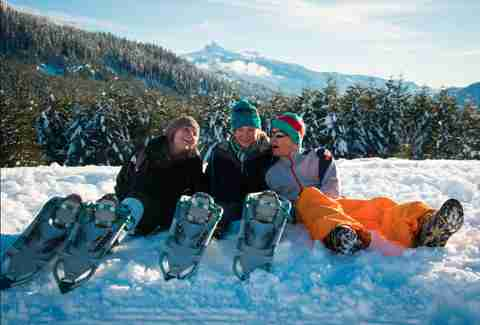 Snowshoeing -- Mike Crane, Tourism Whistler
