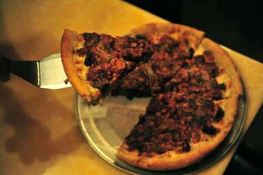 Pilgrim Pie pizza