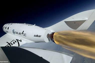 Virgin Galactic ss-22 close-up