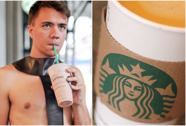 Watch a bunch of dudes brilliantly prank this Starbucks