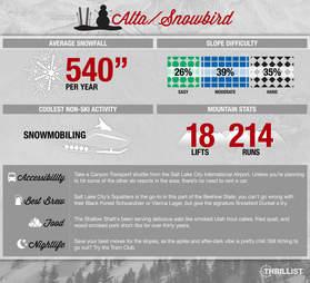 Alta/Snowbird infographic