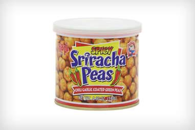 Sriracha green peas
