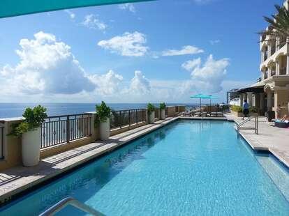 atlantic hotel pool