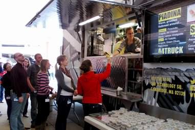 Vistaprint free lunch food trucks