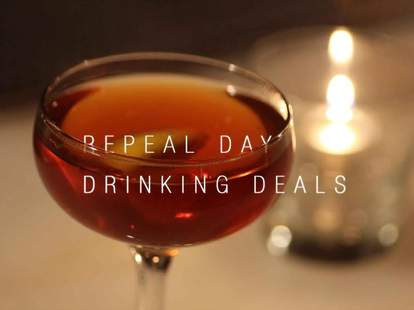 Repeal Day Drinks LA
