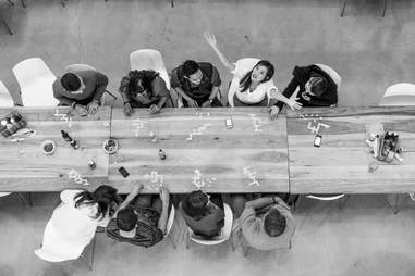 Pinterest lunch table