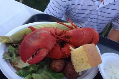 Bowdoin lobster