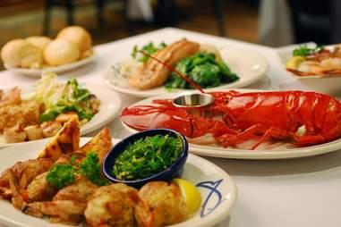 Legal Sea Food -- Park Square BNOYL Party Dinner Boston