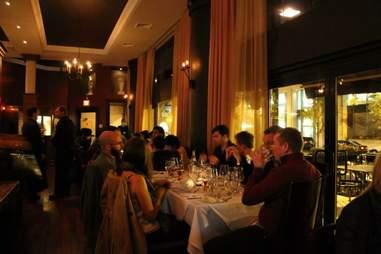 Da Vinci Ristorante BNOYL Party Dinner Boston