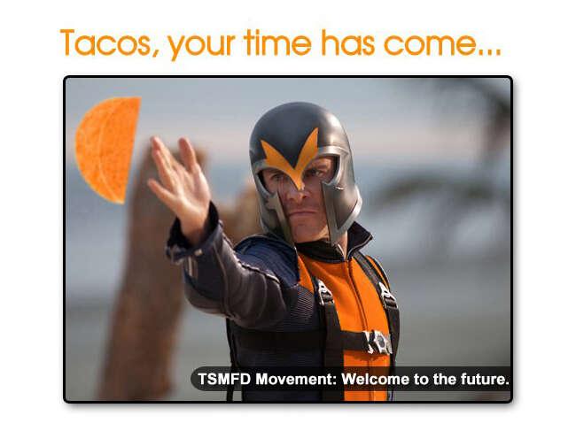 X-Men Doritos Locos Tacos