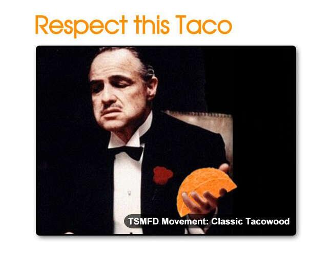 The Godfather Doritos Locos Taco
