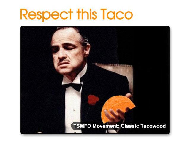 The Godfather Doritos Locos Taco