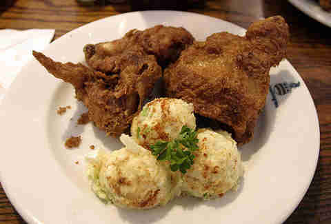 NOLA Fried Chicken Willie Mae's Scotch House