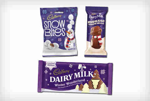 Cadbury Christmas chocolate