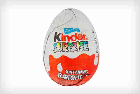 Kinder Surprise Santa egg
