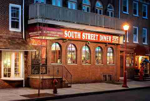South Street Diner exterior
