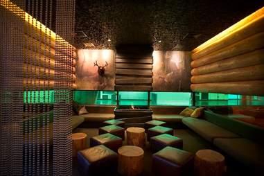 Doug Fir Lounge interior