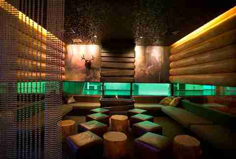 Doug Fir Lounge interior