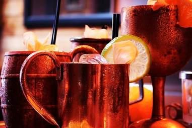 Savoy Tavern cocktails