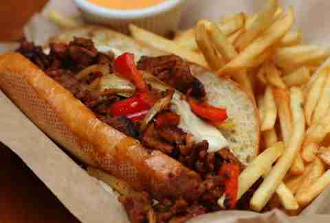 French Fry Po' Boy