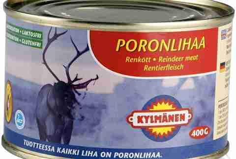 Canned reindeer