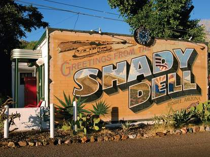 Shady Dell sign