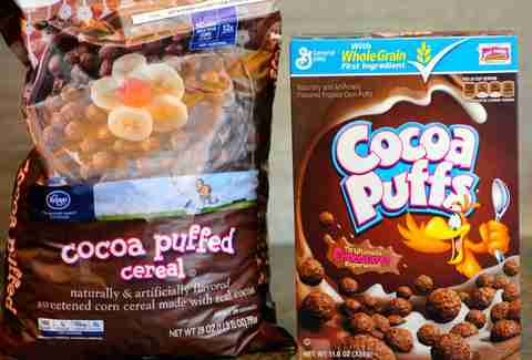 which is better brand name cereals or the generic stuff thrillist