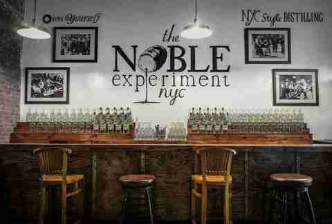 The Noble Experiment NYC in East Williamsburg
