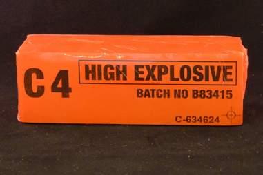 C4 explosive prop