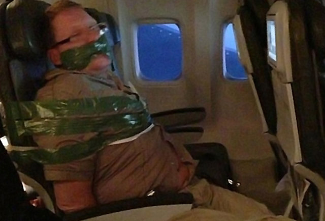 Arrested onboard: The 16 worst real-life airline passengers