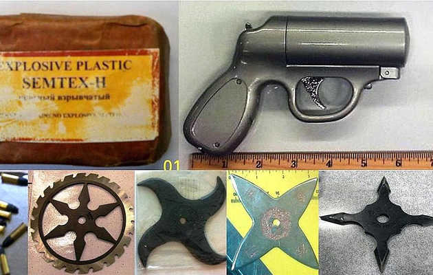 Confiscated contraband: The best of TSA's finds