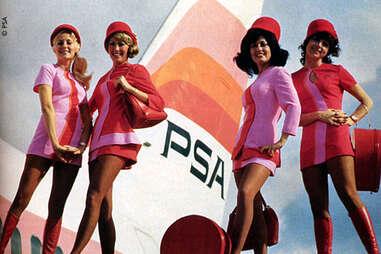 PSA Airline Flight Attendants