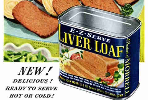 Common american dinners for each decade of the 20th century thrillist liver loaf forumfinder Gallery