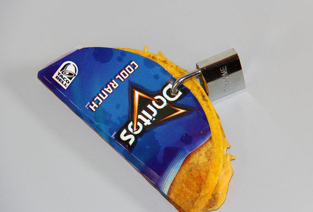 Doritos Locos Taco padlock highlights the greatest Etsy shop ever