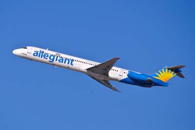 Allegiant Airlines plane