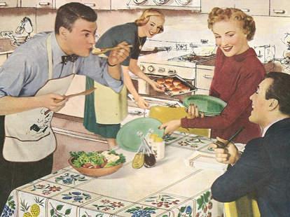 Vintage dinner