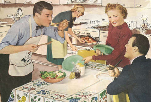 Common American Dinners For Each Decade Of The 20th Century