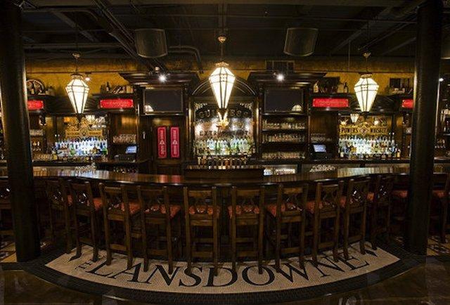 The lansdowne pub