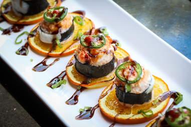 im so baked roll shiku sushi bar san diego