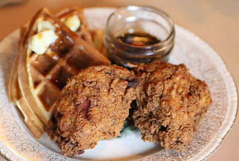 chicken and waffles sweet chick new york