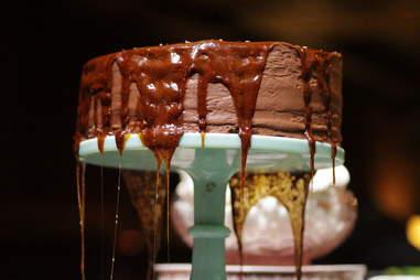 chocolate caramel cake butter midtown new york