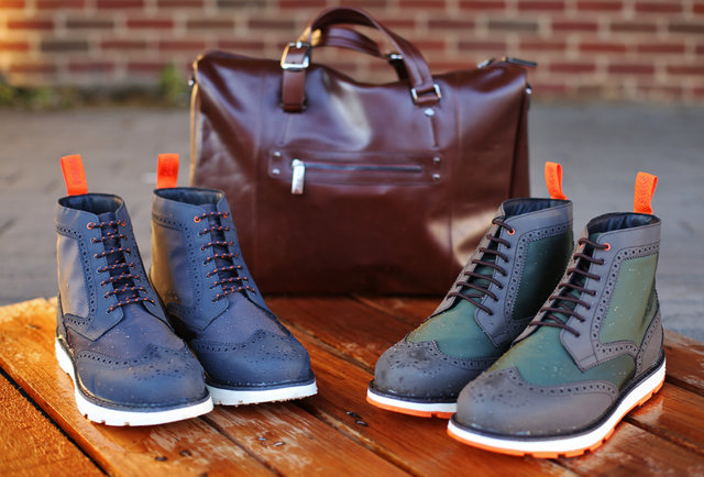 The most sophisticated rain boots you\'ve ever seen