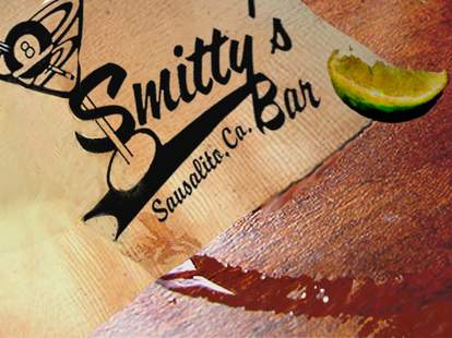 Smitty's Bar napkin