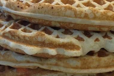 Waffle House waffle stack