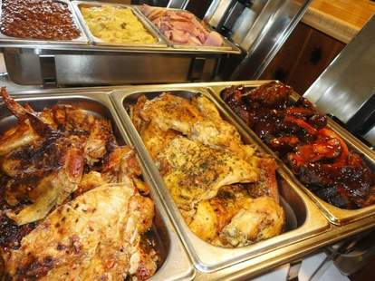 Bert's Marketplace Detroit bbq chicken sides