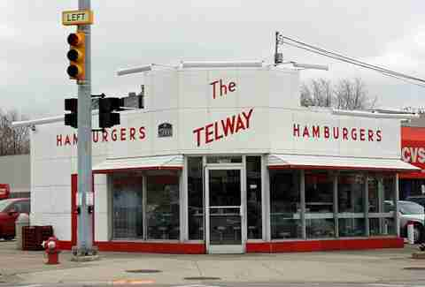 Telway Hamburger System Late-Night Eats Detroit