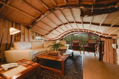 tree house suite living room