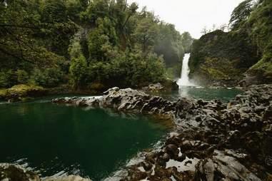 Huilo Huilo Falls