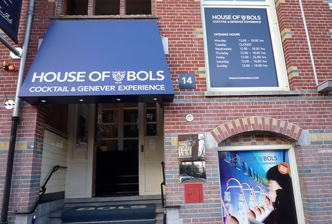 Afbeeldingsresultaat voor house of bols cocktail experience amsterdam